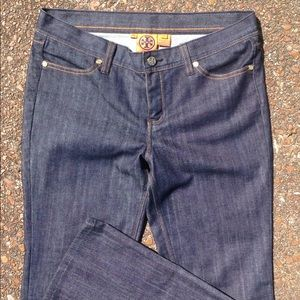 Tory Burch classic jeans, new 29